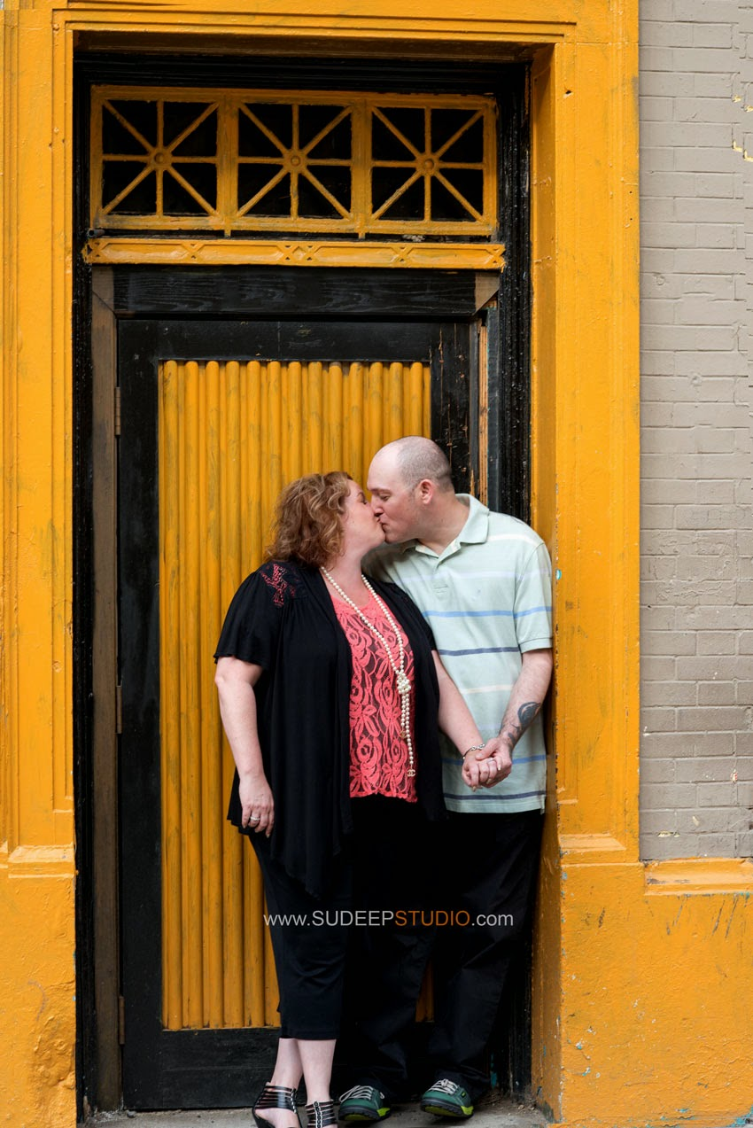 Detroit Engagement Session - Sudeep Studio.com