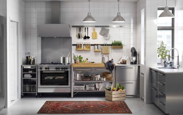 Cucina Inox Ikea
