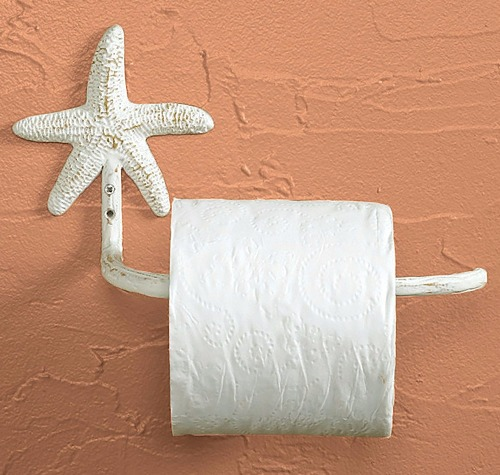 Starfish Toilet Paper Holder
