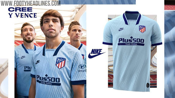 Atletico Madrid 19 20 Third Kit Released Footy Headlines