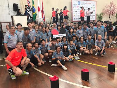 Mesatenistas de Registro-SP participam do Campeonato Brasileiro Intercolonial de Tênis de Mesa