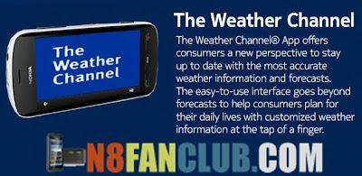 The Weather Channel 2 0 Nokia N8 S^3 Anna Belle Free App Download