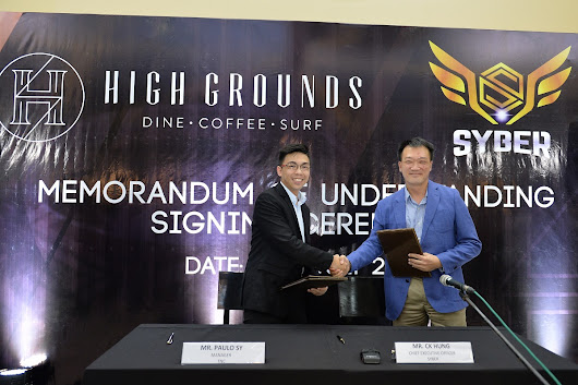 TNC, SYBER, High Grounds Café announce merger to spearhead e-gaming scene in the Philippines