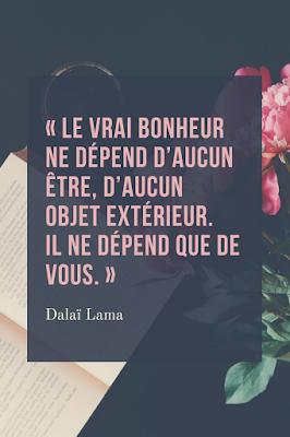 bonheur selon Dalai lama