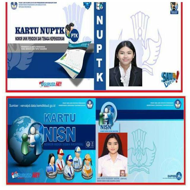 Download File Aplikasi Cetak Kartu NUPTK Plus NISN Terbaru