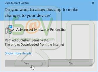 Aceptar instalar Zenama