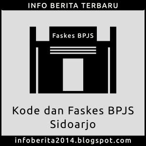 Kode dan Faskes BPJS Kesehatan Sidoarjo