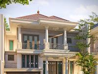 Gambar Desain Rumah Klasik yang Hommy TERBARU