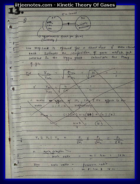 Kinetic Theory Of Gases13