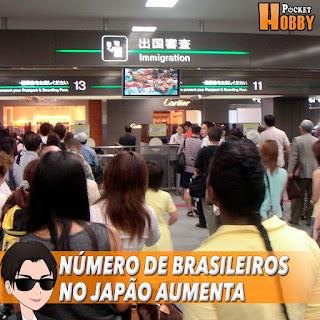 Pocket Hobby - www.pockethobby.com - Número de Brasileiros no Japão Aumenta