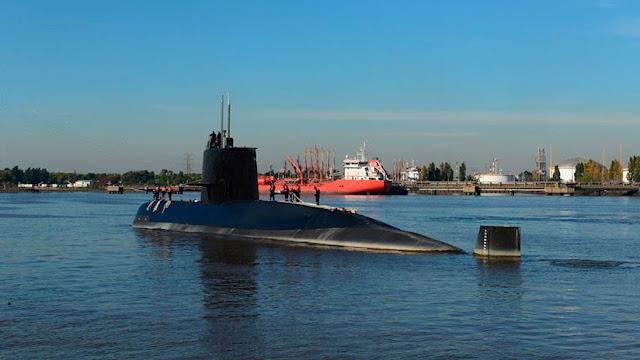 Cómo es el operativo de búsqueda del submarino argentino desaparecido