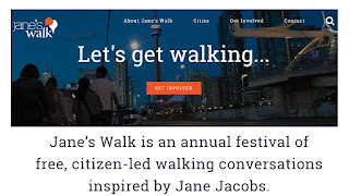 Jane's Walk is an annual festival of free, citizen-led walking conversations inspired by Jane Jacobs.