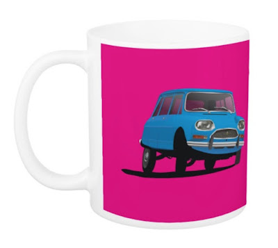 Citroën Ami 8 muki mugs