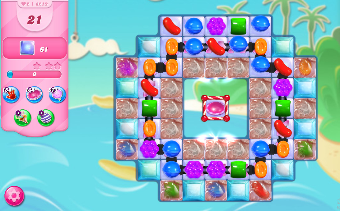 Candy Crush Saga level 6219