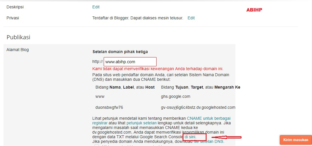 Upload file txt dengan blogger.