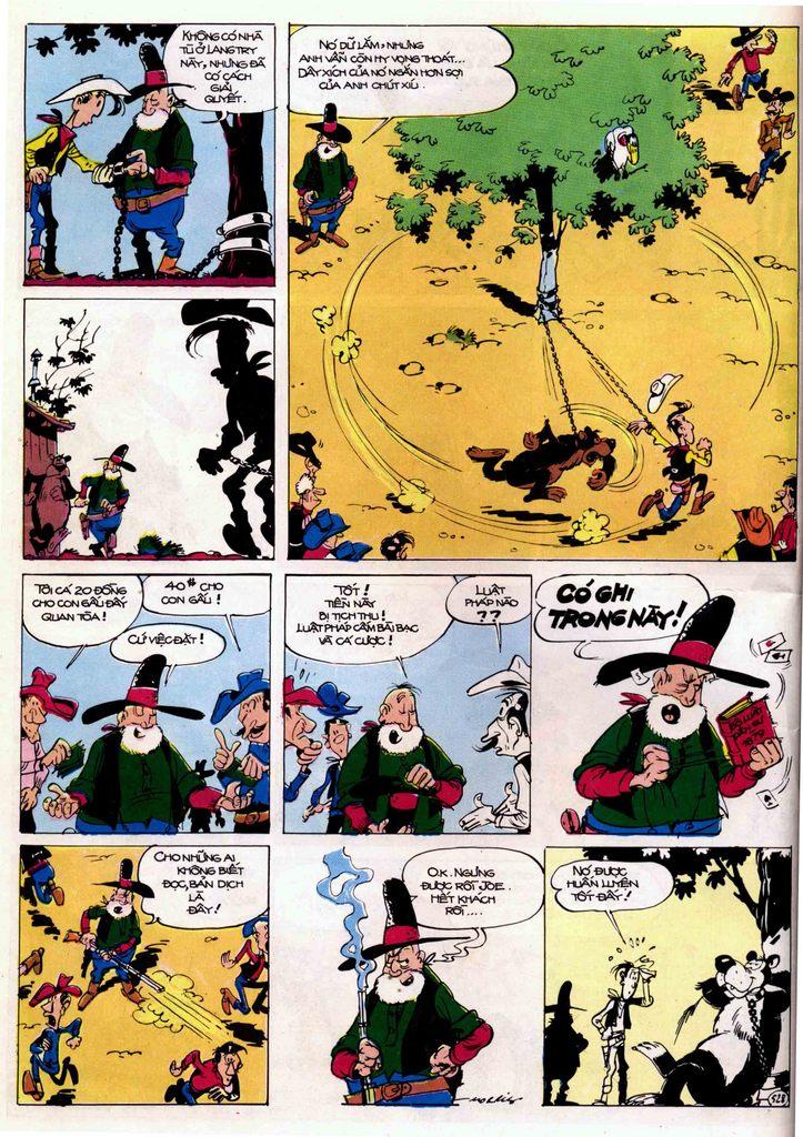 Lucky Luke tập 21 - sợi dây biết hát trang 8