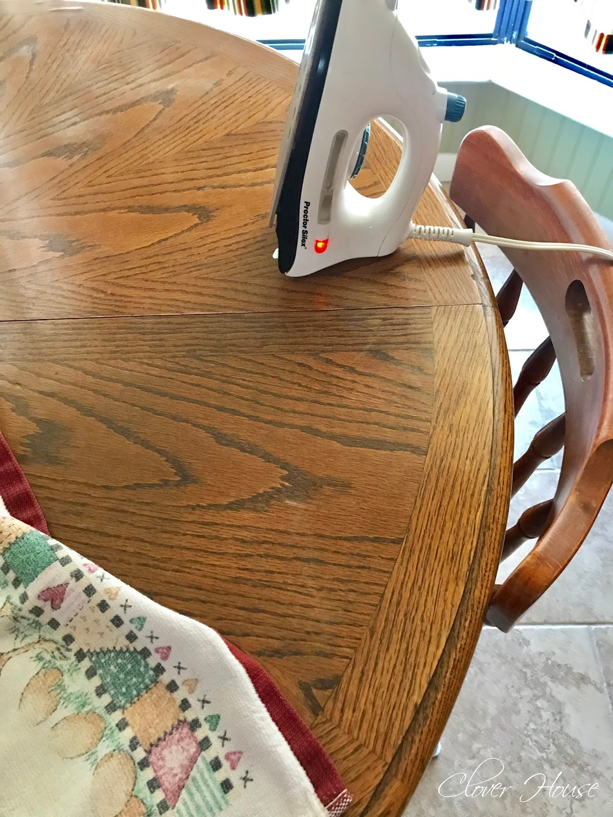 Clover House Removing White Heat Marks From Your Table Top - How To Remove Old White Heat Stains From Tablecloths