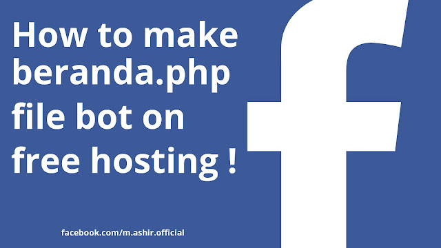 how to make personal facebook bot