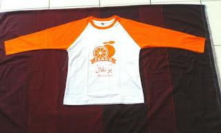 kaos anak Islami Murah Arab, Kaos buah jeruk, kaos anak lucu