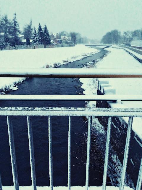zimowe zdjęcie krajobrazu