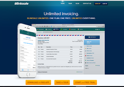 BlinkSale helps you to easily create invoices that impress