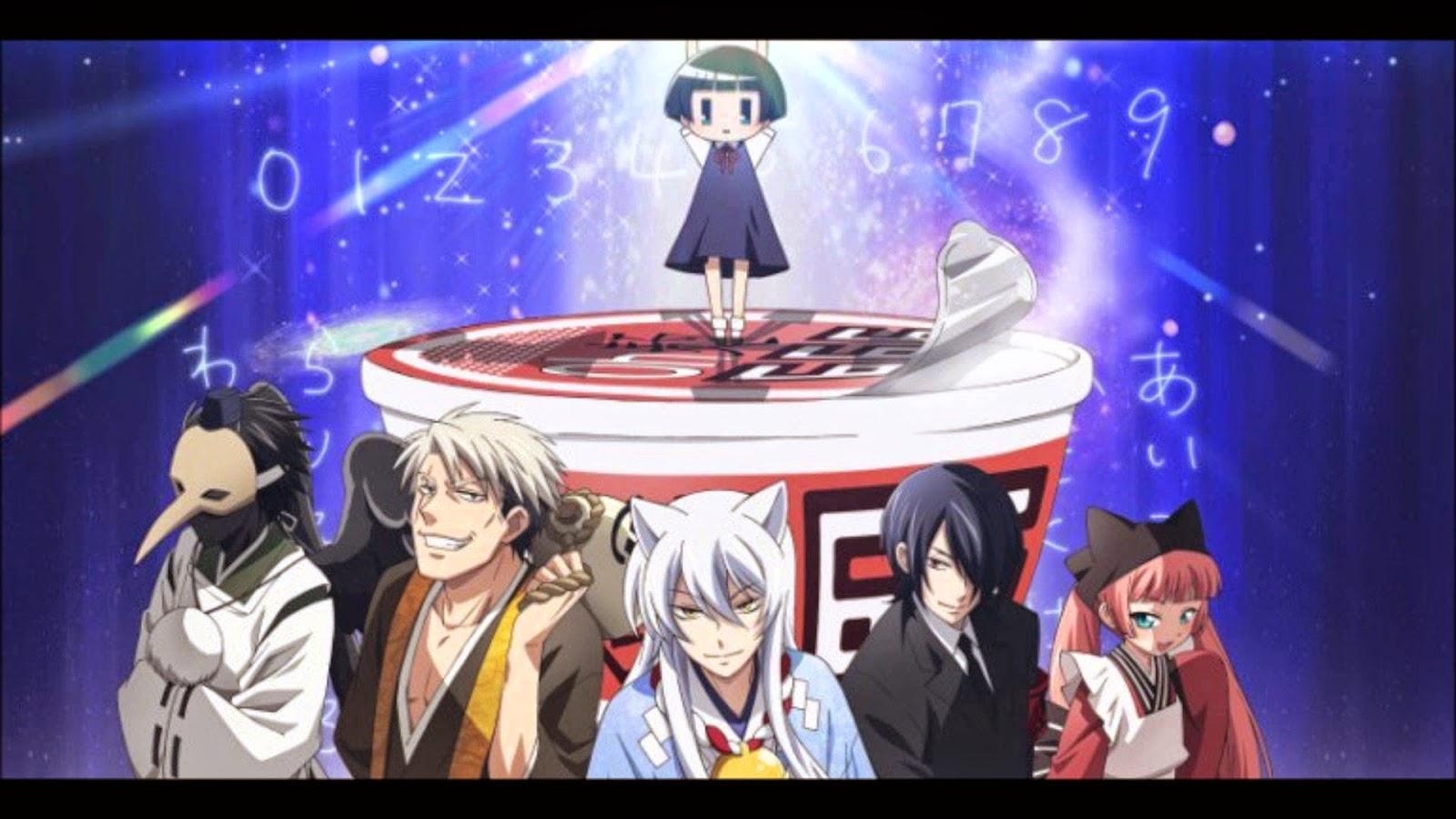 Anime comedy terbaik Gugure! Kokkuri-san