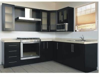 Memiliki dapur merupakan salah satu hal wajib yang harus ada di dalam desain rumah 70 Desain Interior Dapur Minimalis Bentuk - L