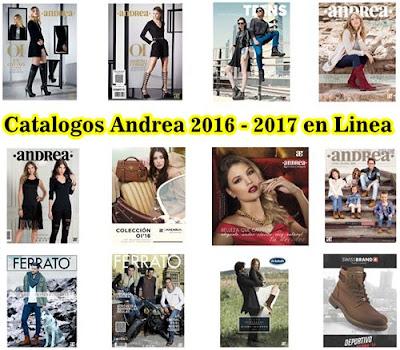 Catalogos Andrea del 2016 en linea