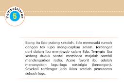 Kunci Jawaban Tematik Kelas 5 Tema 9 Subtema 3 Pembelajaran 5