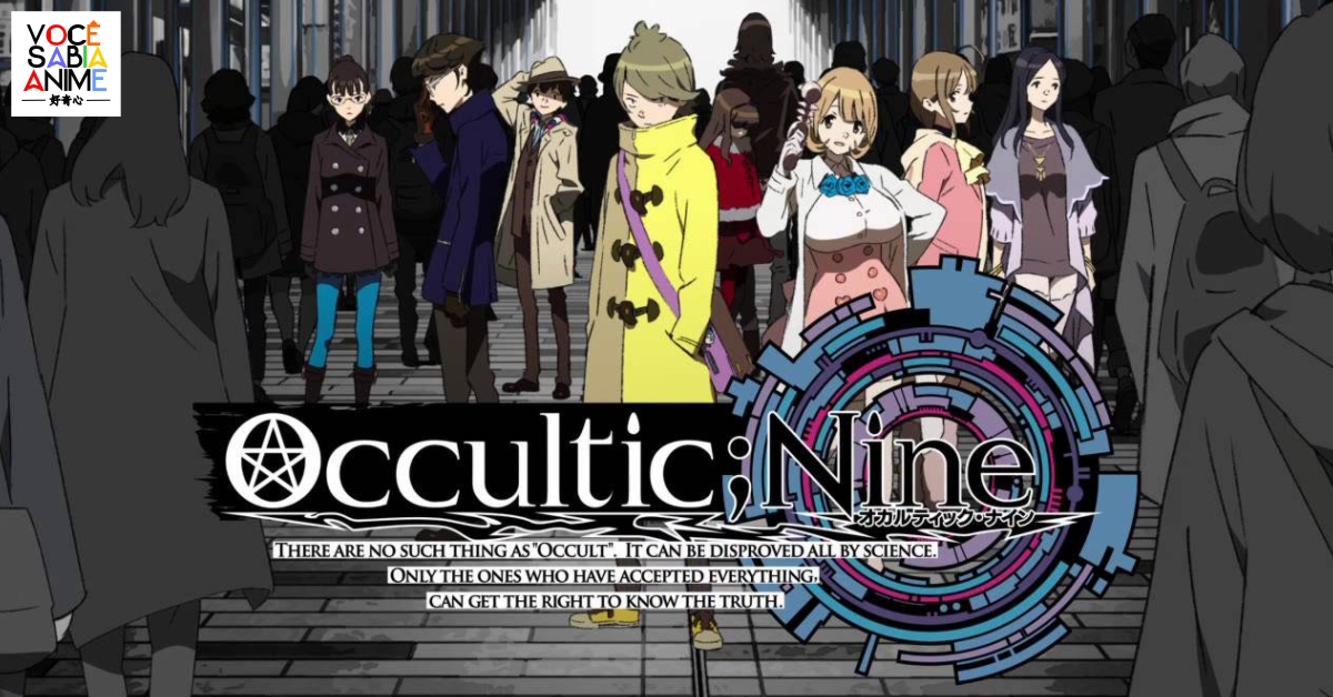 Occultic;Nine tem gameplay da visual novel transmitido