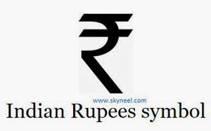 How to type Indian Rupee Symbol in Microsoft Word