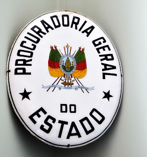 Procuradoria Geral do Estado do RS - Placa de Identificação