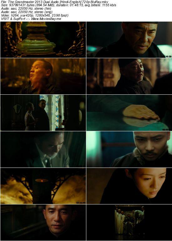 The Grandmaster 2013 Dual Audio [Hindi-English] 720p BluRay
