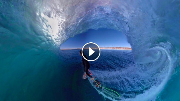 ENJOY THE RIDE SURFING IN VIRTUAL REALITY RY CRAIKE OFF GRID WITH A KID - MINI MOVIE