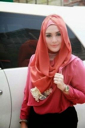 Jenis Model Jilbab Cantik Ala Edies Adelia Tutorial Jilbab Modern Tutorial Jilbab Modern