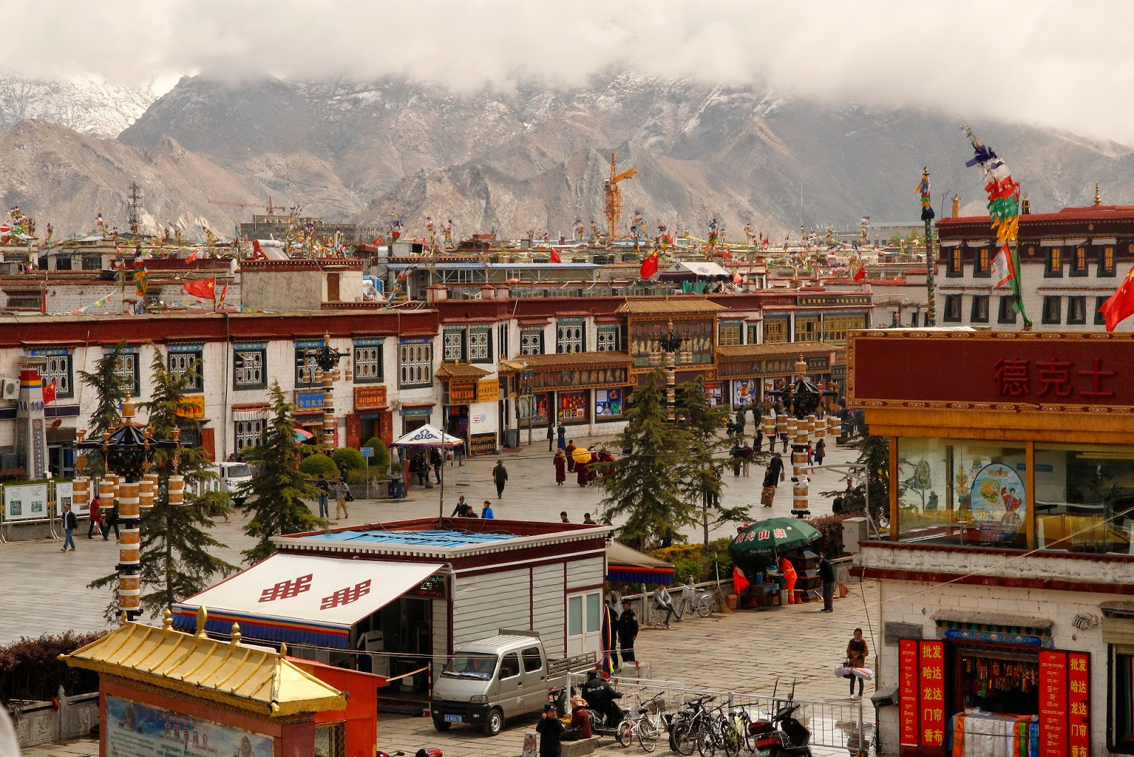 Jokhang Temple Square in Lhasa