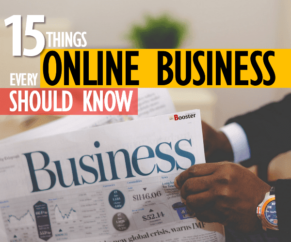 Running a Business Online
