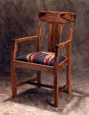 Antique Natural Handicraft Collections Simple Design Wooden Chairs