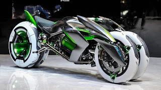 Concept of Kawasaki J3 Wheeler EV