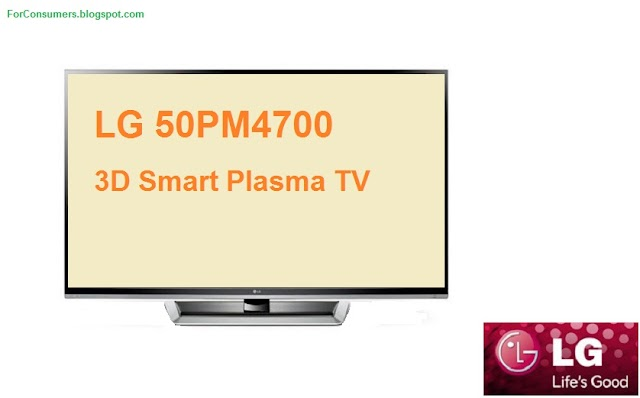 LG 50PM4700 3D plasma TV review