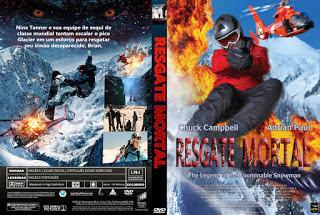 Filme Resgate Mortal (Deadly Descent) DVD Capa