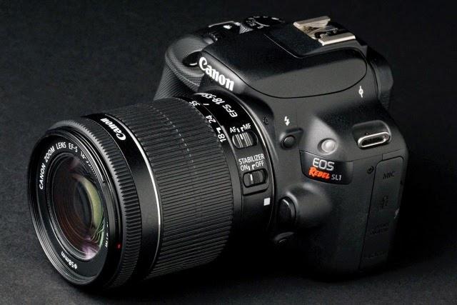 ec7aac5a9 تستمر كاميرات DSRLs اكثر الكاميرات التى تحقق مبيعات - وفى حالة EOS Rebel  SL1 تعد كاميرا جيدة فى إلتقاط الصور الثابتة والفيديو أيضا