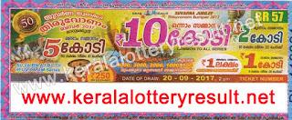 thiruvonam bumper lottery br-57, onam bumper br 57, onam bumber lottery br57 result, thiruvonam bumper result 2017, thiruvonam bumper-2017- prize structure