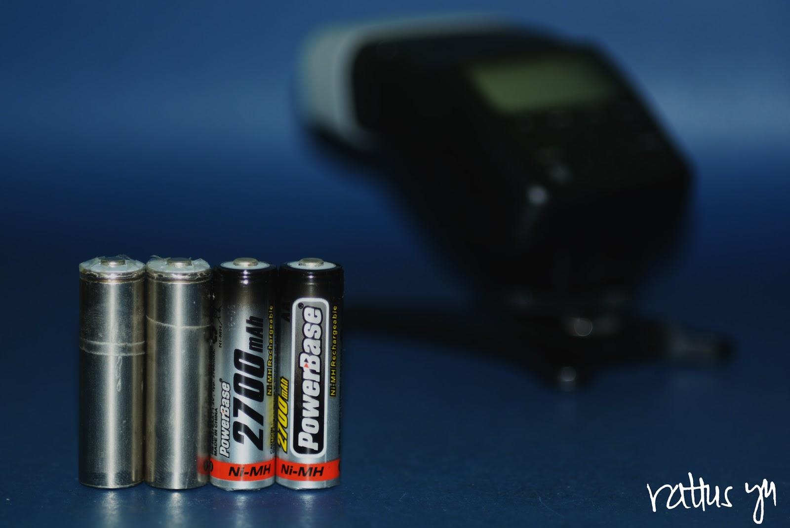 Powerbase 2700mAh 1.2v Ni-MH AA Batteries