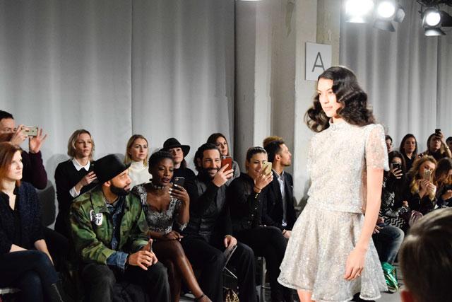 Ewa Herzog Kollektion No. 10 Berlin Fashionweek Frontrow Massimo