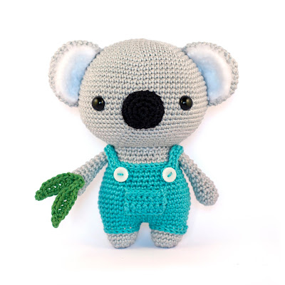 Toy Patterns by DIY Fluffies : Koala amigurumi pattern