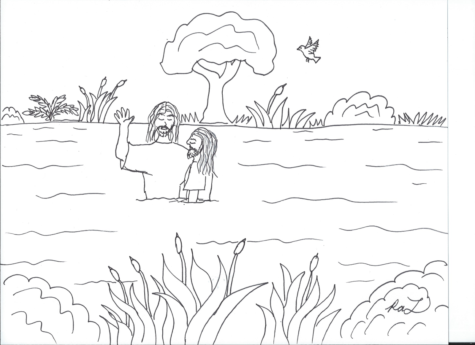 Robin's Great Coloring Pages: Gospel Pictures . . . New