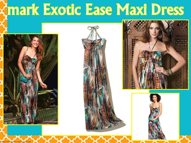 Erica's Fashion & Beauty: Exotic Ease Maxi Dress