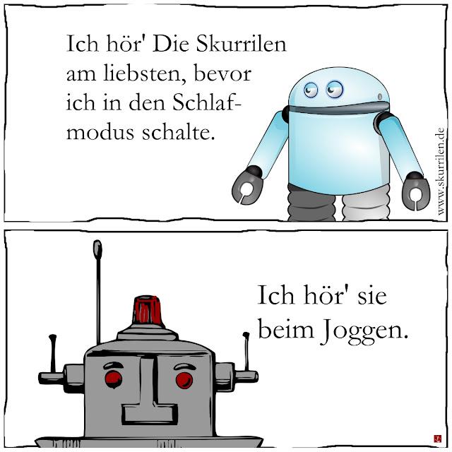 Roboter und Androiden hören skurrile Fantasy- und Science-Fiction-Audios auf www.dieskurrilen.podspot.de, auf iTunes oder neu auf www.radio.de