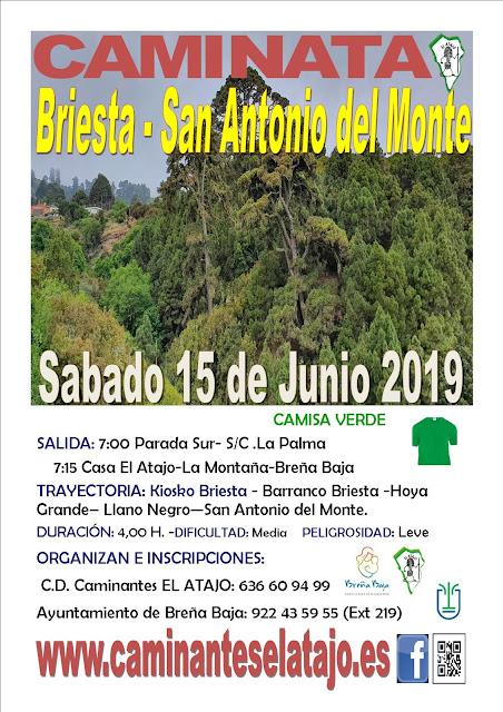 EL ATAJO: Caminando a San Antonio del Monte